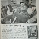 1956 Champion Spark Plugs ad #1