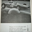 1962 Champion Spark Plugs ad featuring Pat Pigott
