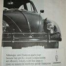 1963 Champion Spark Plugs Volkswagon ad