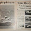 1963 Champion Spark Plugs Riverside Racetrack ad