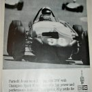 1963 Champion Spark Plugs ad featuring Parnelli Jones