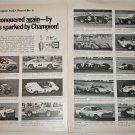 1970 Champion Spark Plugs SCCA Report #6 ad