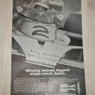 1976 Champion Spark Plugs Indianapolis 500 ad