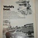 1978 Champion Spark Plugs ad featuring Niki Lauda