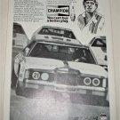 1978 Champion Spark Plugs ad featuring David Pearson