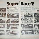 1978 Champion Spark Plugs Super Race V ad