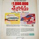 1964 Delco Shock Absorber Contest ad