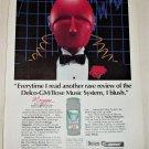 1985 Delco Bose I Blush ad