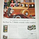 1923 Dupont No 7 Auto Polish ad