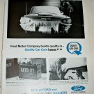 1965 Ford Quality Car Care ad #3