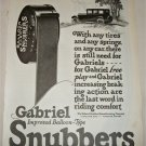 1925 Gabriel Snubbers ad