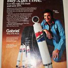 1976 Gabriel Shock Absorbers ad featuring Roger Miller