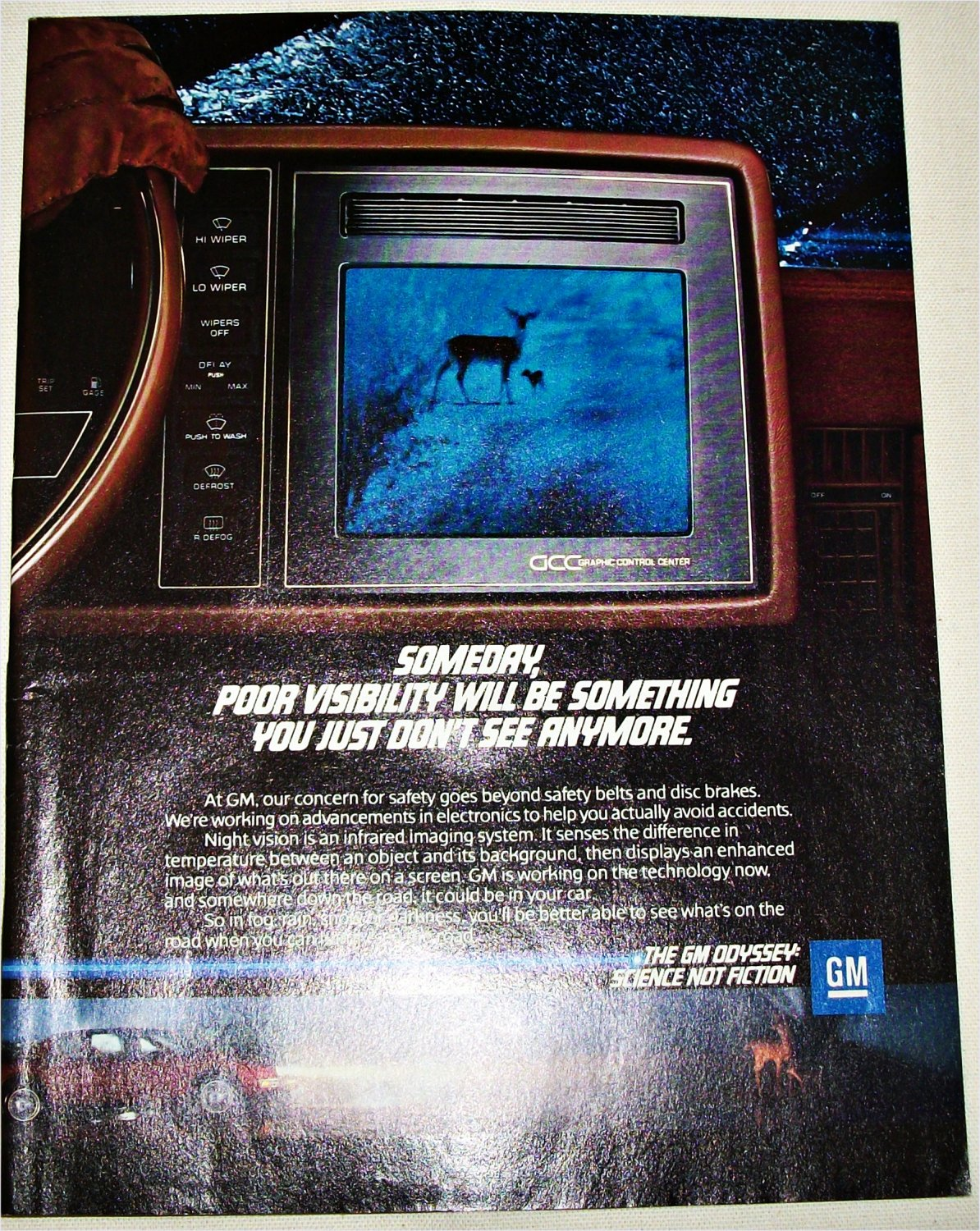 GM Night Vision ad