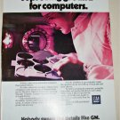 1985 GM Computers ad
