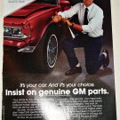 1989 GM Parts ad