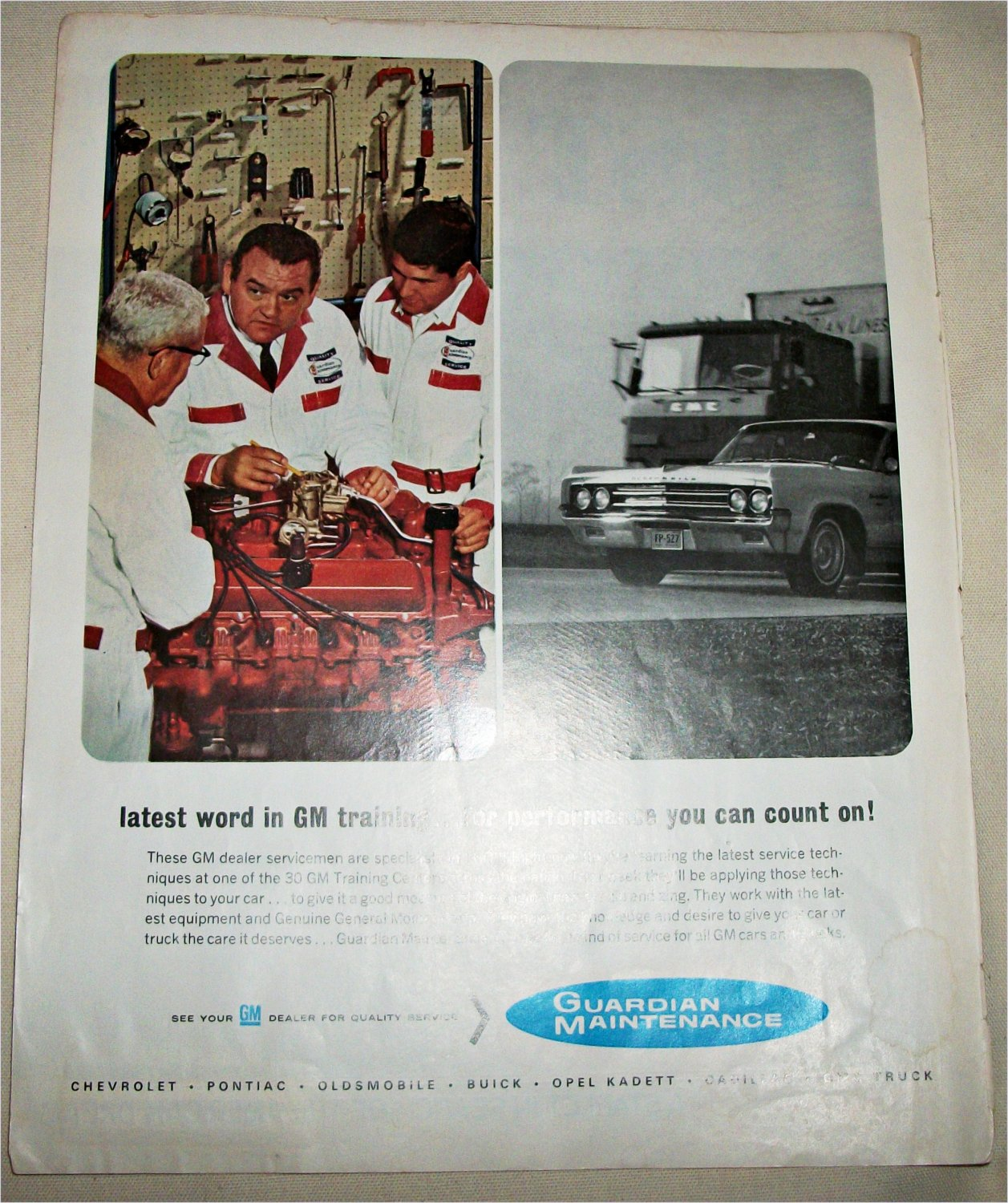 1965 Guardian Maintenance ad