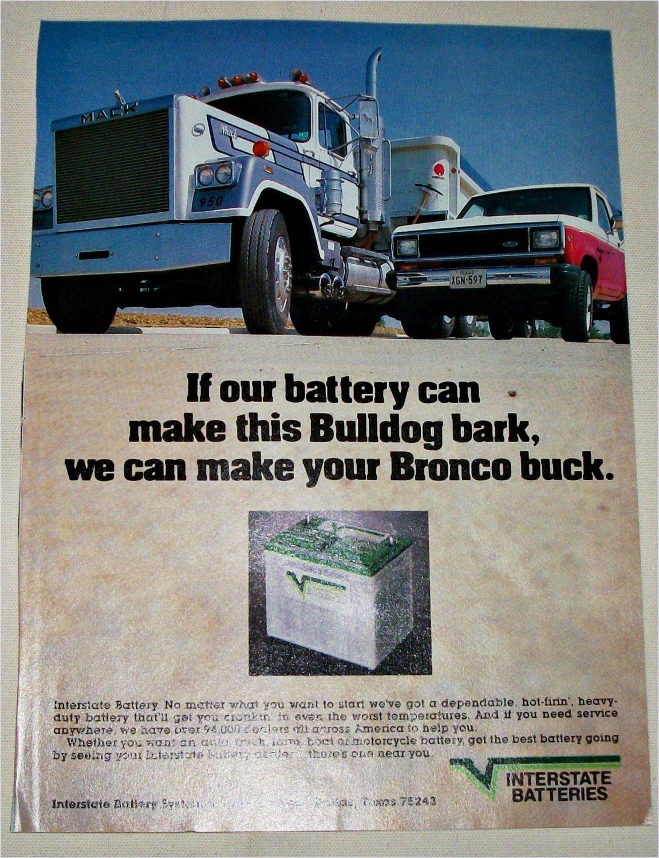 1985 Interstate Batteries ad