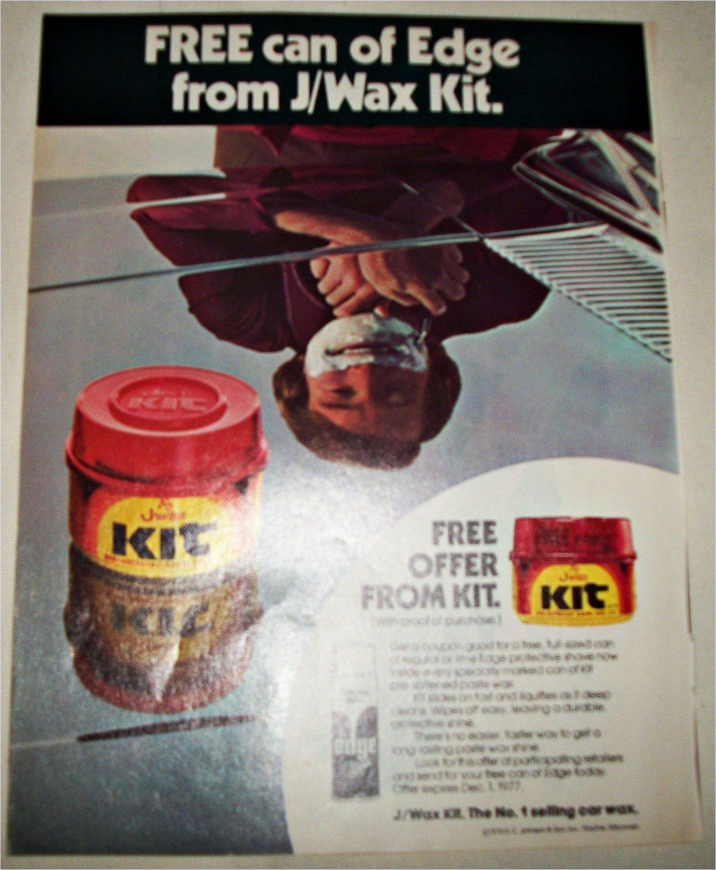 1976 J Wax ad