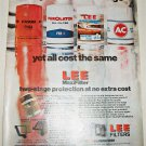 1972 Lee Oil Filters ad