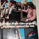 1978 Monroe Radial-Matic Shock Absorbers ad