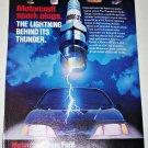 1987 Motorcraft Spark Plugs ad
