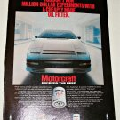 1983 Motorcraft FL1A Oil Filter ad #1