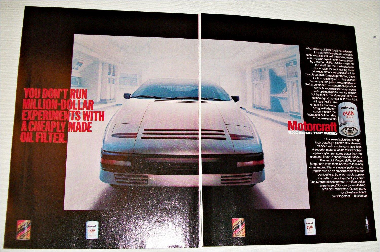 1983 Motorcraft FL1A Oil Filter ad #2