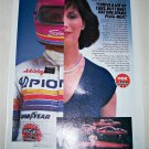 1984 NGK Spark Plugs ad featuring Shirley Muldowney
