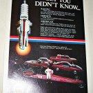 1984 NGK Spark Plugs ad #1