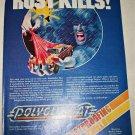 1978 Polyglycoat Rustproofing Shield ad