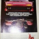 1984 Simoniz Bodyguard Car Wax ad