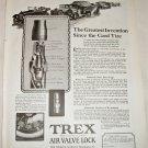 1922 Trex Air Valve Lock ad