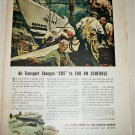 Airlines of the United States WWII ad