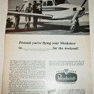 1967 Beechcraft Musketeer Aircraft ad