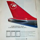 1992 Northwest Airlines ad