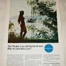 Pan Am Airlines The Pacific is an Old Friend ad