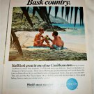 1967 Pan Am Airlines Bask Country ad