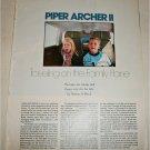 1977 Piper Archer II Aircraft article