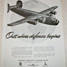 1941 United Aircraft Corporation B24 Liberator ad