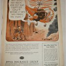 1954 Aetna Insurance Group Forest Fire ad