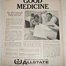 1960 Allstate Good Medicine Insurance ad