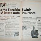 1967 Allstate Auto Insurance ad