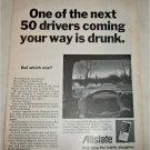 1969 Allstate Drunk Driver ad