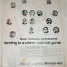 1970 Commerce Bancshares ad