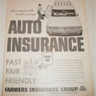 1964 Farmers Insurance Group Auto Insurance ad