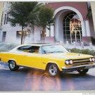 1965 AMC Marlin car print (yellow)