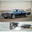 1967 AMC Ambassador DPL 2 dr ht car print (blue & white)