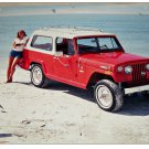 1971 AMC Jeepster print (red & white)