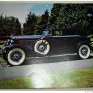1933 Auburn V12 Convertible car print (black, black top)