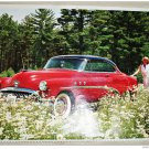 1952 Buick Riviera 2 dr Ht car print (red & black)